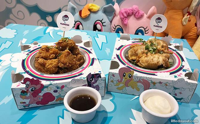 My Little Pony Pop-Up Café Menu