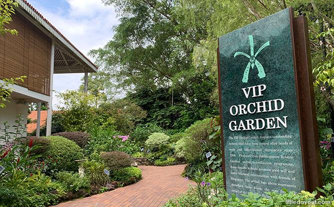 VIP Garden - National Orchid Garden