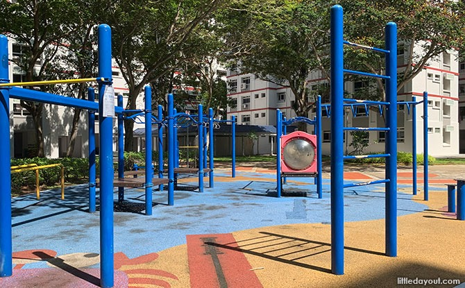 Fitness area at Nautical Park