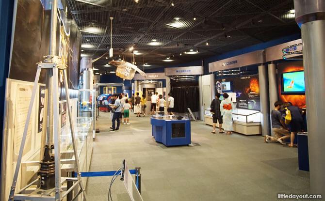 Inside the Osaka Science Museum