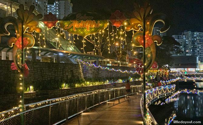 Pang Sua Pond Hari Raya Light Up