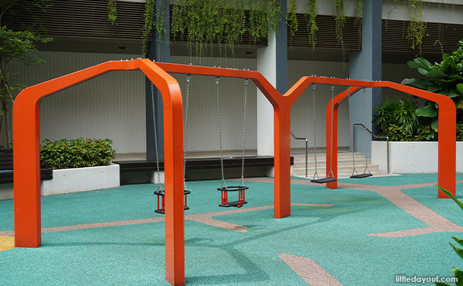 Swings at PLQ Playground