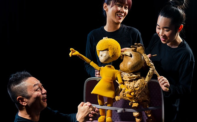 The Puppeteer Prepares - Arts in Your Neighbourhood March 2021