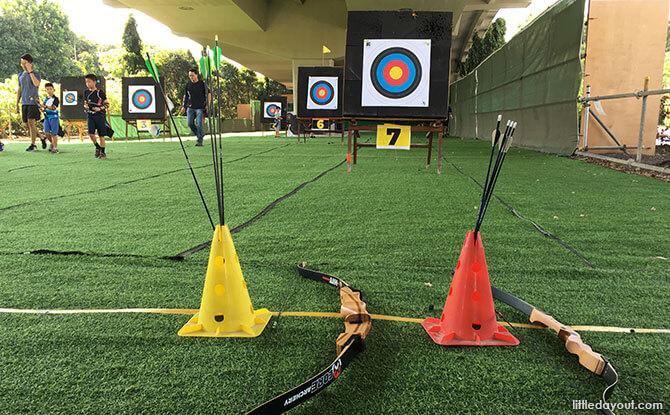Arrows in holders