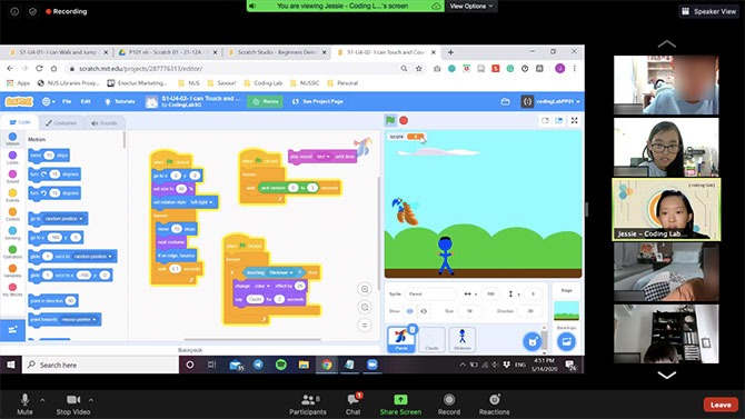 LIVE Lessons On Zoom - Coding Lab Review