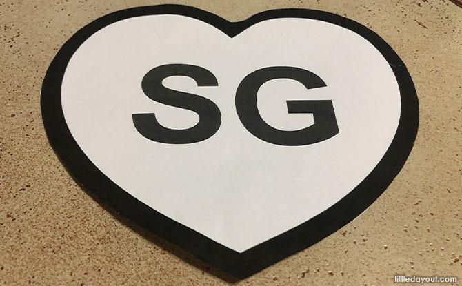 How to make SG Paper Heart Art