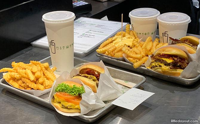 Shake Shack Burgers Singapore