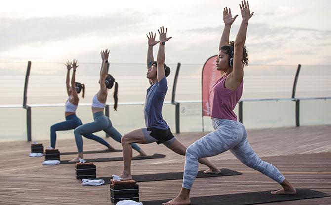 Post SkyPark Yoga Class Treats