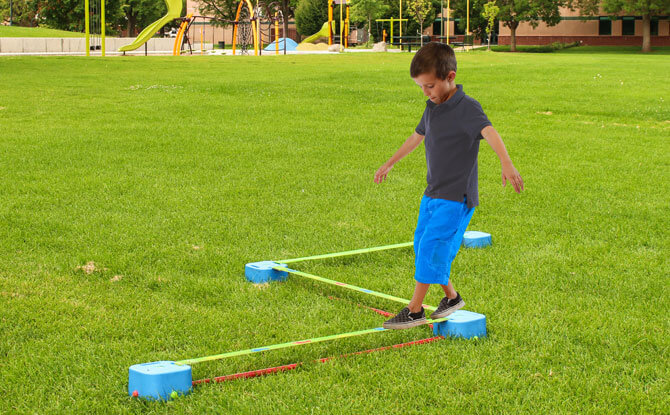 Take the Slackline Dash Challenge and Win Shopping Vouchers