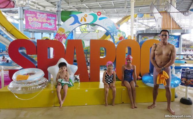 Rooftop Family Fun at Spa World Osaka