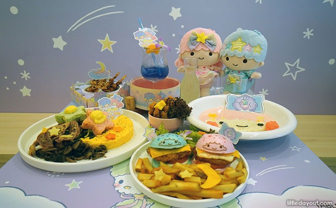Little Twin Stars x Kumoya Food