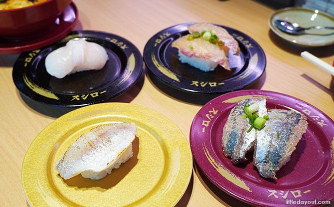 Sushi to Satisfy - Sushiro Isetan Scotts