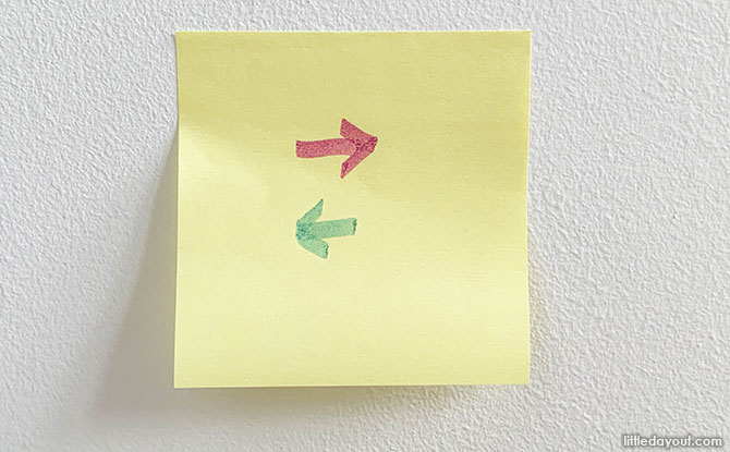 Post It Science Experiment