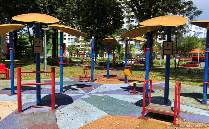 Tampines North Park Fitness Corner