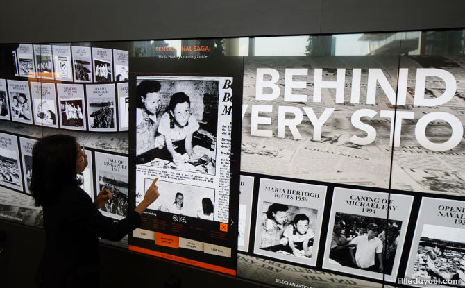 The News Gallery: Beyond Headlines – Meet The Media At National Library Board's Permanent Gallery