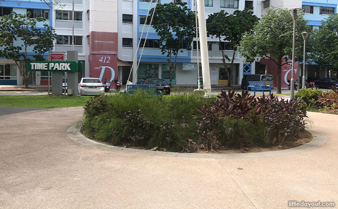 Time Park At Pasir Ris: Treehouse Playground And Fitness Area