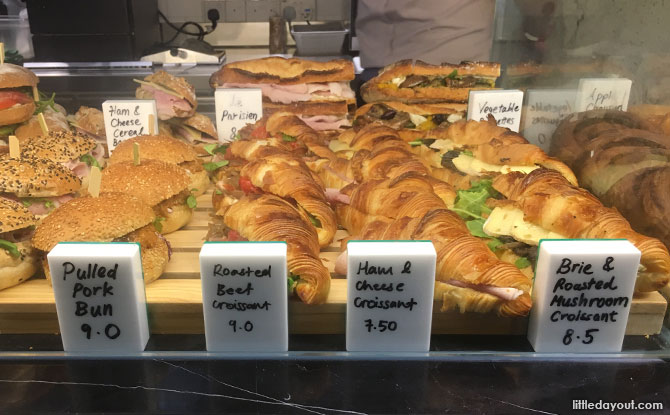 Savoury bites at Tiong Bahru Bakery Safari