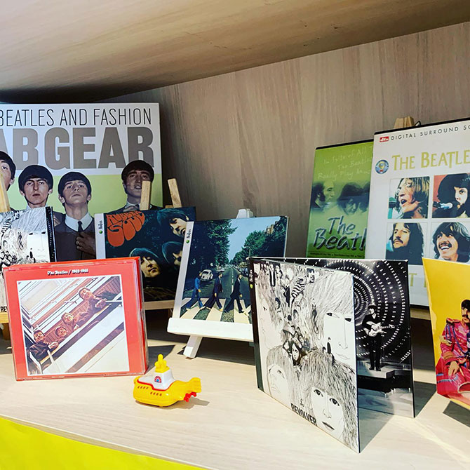 Beatles Museum on a Shelf