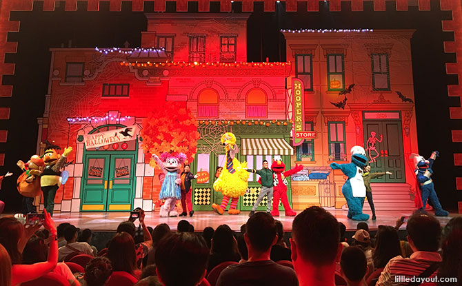 Trick or Treat with Sesame Street Musical Show