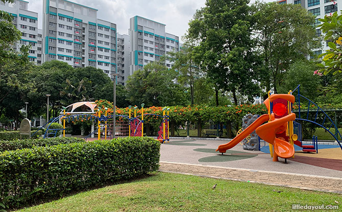 Woodlands Crescent Park Neighbourhood Playground