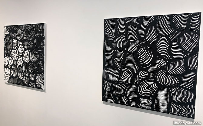 Monochrome Paintings From My Eternal Soul