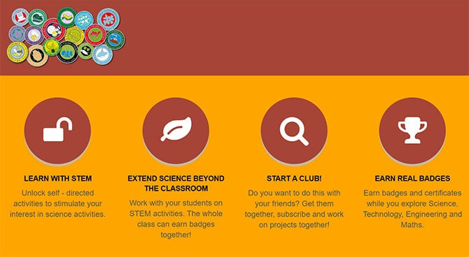 How the Young Scientist Online Badge Scheme works