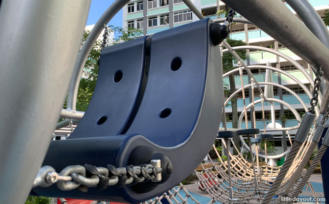 Cockpit of the Yung Loh Plane Playground in Singapore