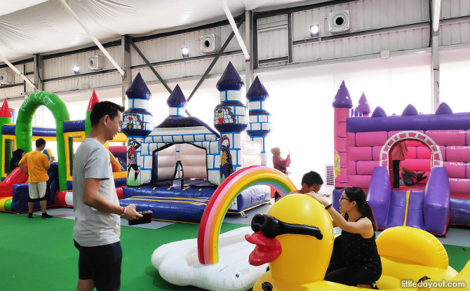Bouncy Paradise inflatables playground, Pandan Gardens