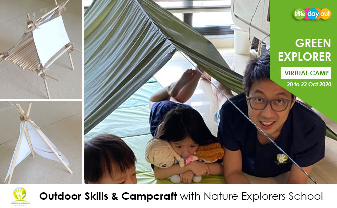 Little Day Out's Green Explorer Camp: Outdoor Skills & Campcraft with Nature Explorers School