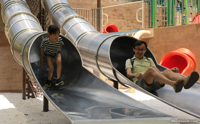 Enjoy family fun at Admiralty Park Playground.