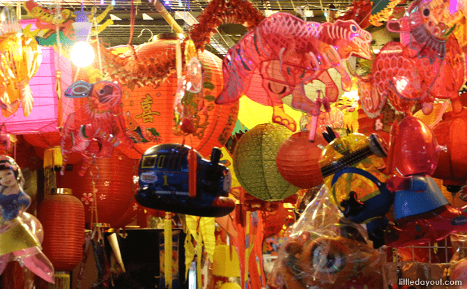 Chinatown Mid-Autumn Festival 2016 Festive Bazaar & Carnival