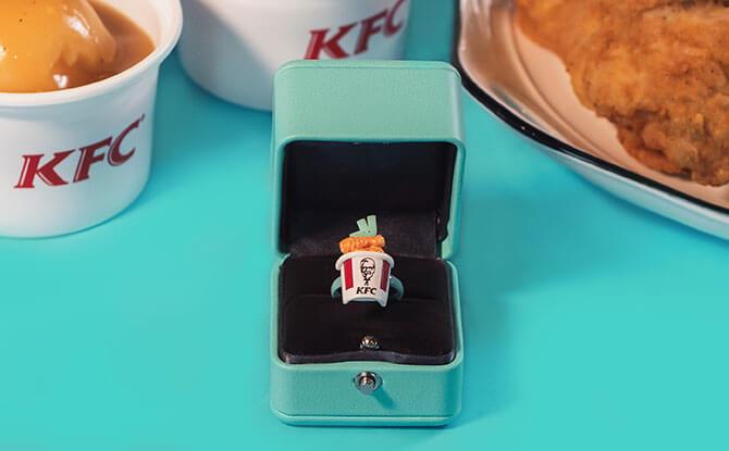 KFC Bucket Ring