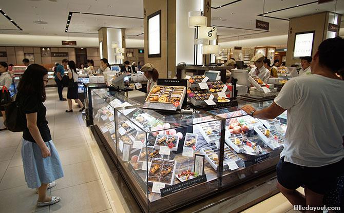Food hall at Mitsukoshi, Ginza, Tokyo