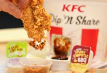 KFC Dip, Dunk 'N Share Bucket Taste Test & New KFC Singapore App