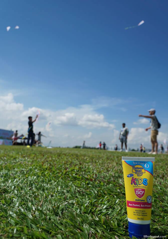 Kite flying in Singapore