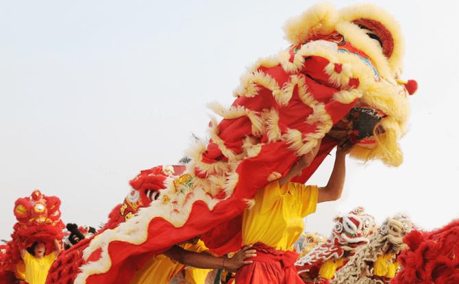 Lion Dances