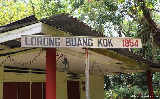 Lorong Buangkok Sign