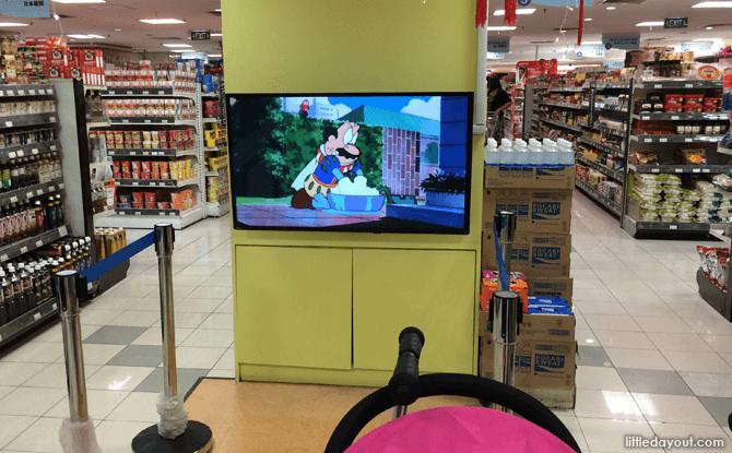 Meidi ya TV corner
