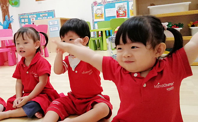 At MindChamps PreSchools, children benefit from the 3-Minds Model