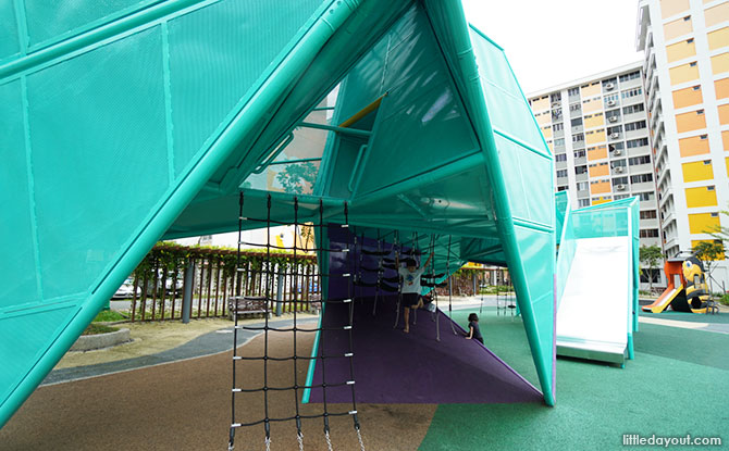 Origami Playground at Nee Soon 3G Park Slide
