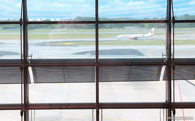 Viewing Gallery at Changi Airport Terminal 3
