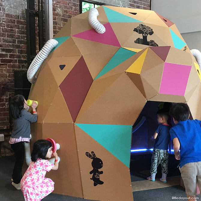 Playeum's hands-on exhibition, 'A World Full of Stories'