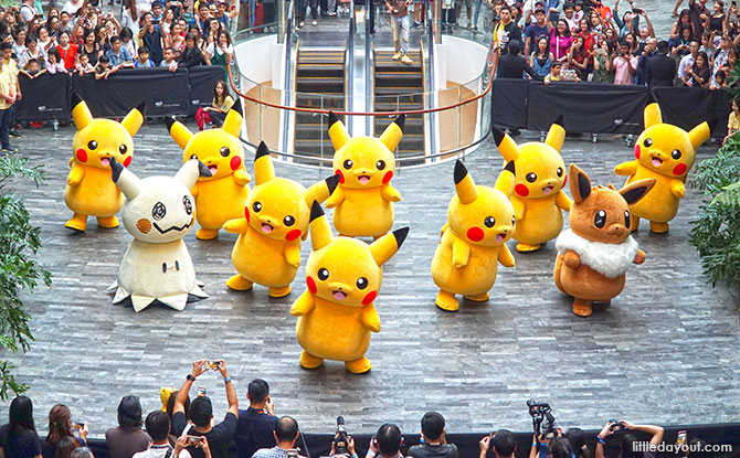 Jewel Is Having Its First Pokémon Parade. Here's Where And When To Catch 'Em All.