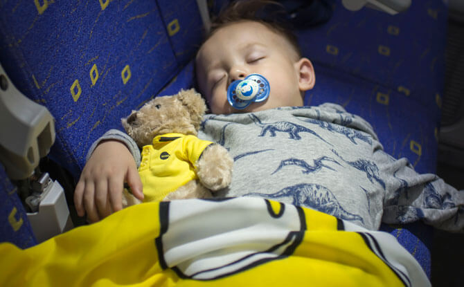 Getting a restful sleep while flying on Scoot