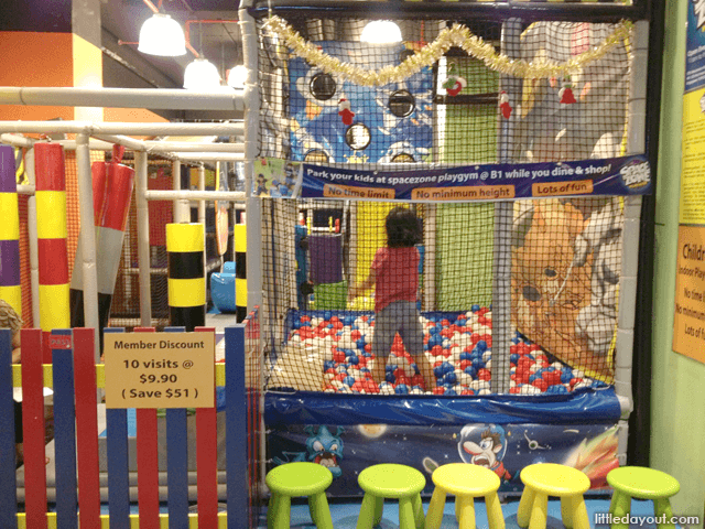 Space Zone Play Gym
