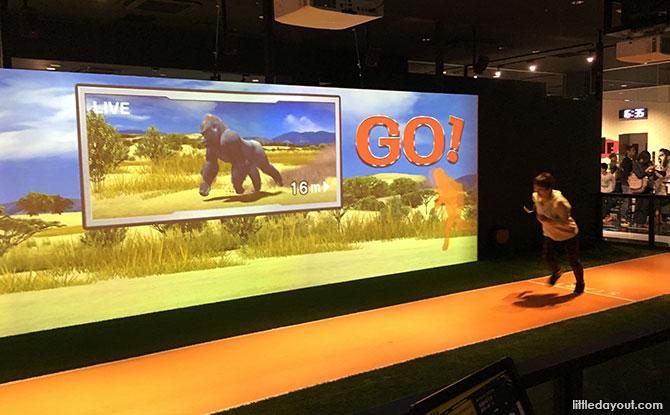 VS Park, EXPOCITY, Osaka: Sporty Japanese Game Show Fun