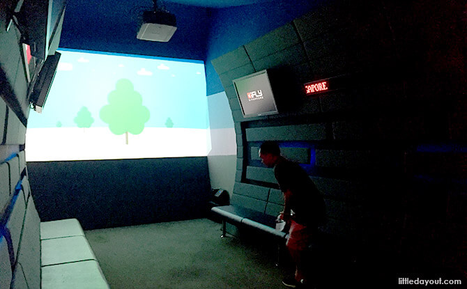 Introductory Video at at iFly Singapore