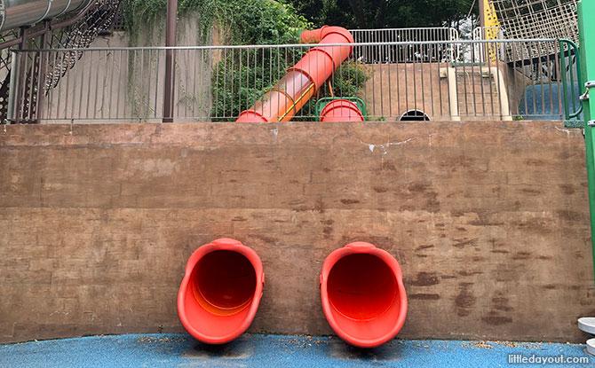 Admiralty Park Playground Slides