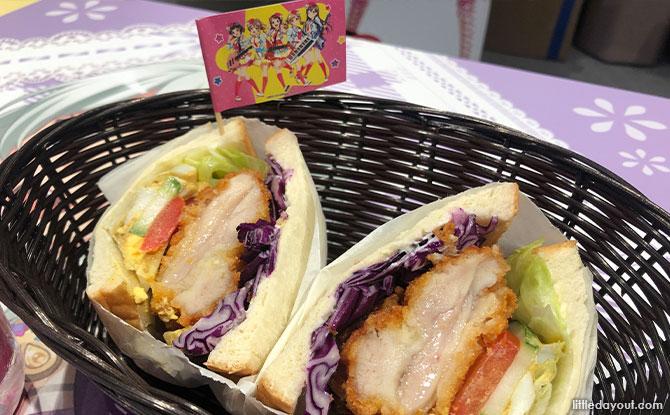 Poppin'Party's Wanpaku Sandwich