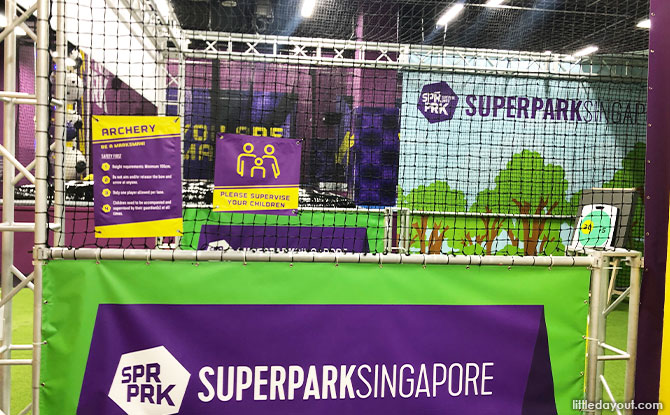 Archery SuperPark Singapore